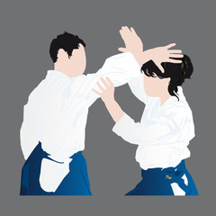 technique d'aikido - ikyo