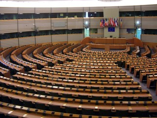 European Parliament in Brussels