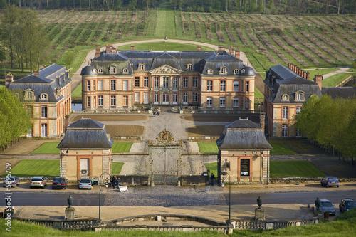 France dampierre en yvelines chateau photo libre de for Chateaux en yvelines