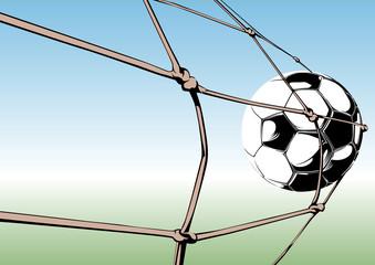 Ball im Netz 2