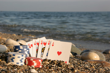There's nothing better - a royal flush by the sea