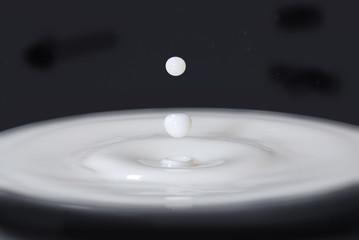 Milk drops