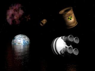 contaminacion espacial 2