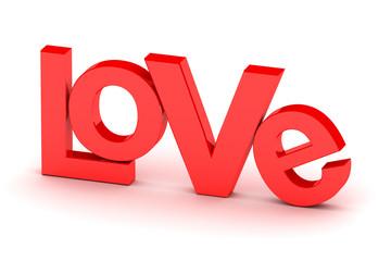Love 3d render