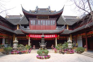 Foto auf Gartenposter Tempel temple - quartier yu garden - shanghai