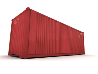container red color 3