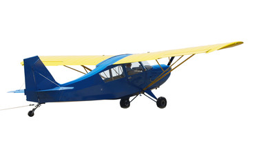 Tiger Cub Glider Tow Plane with tow rope