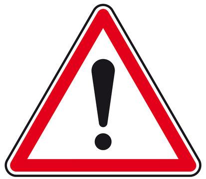 Panneau Attention danger !