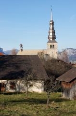 village montagnard
