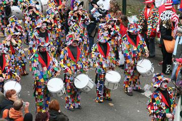 Printed kitchen splashbacks Carnaval Karneval