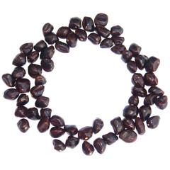 cercle de graines de tamarin