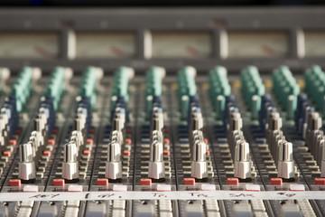 Console de mixage - Sonorisation de spectacle