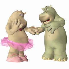 Hippopotamus in Love