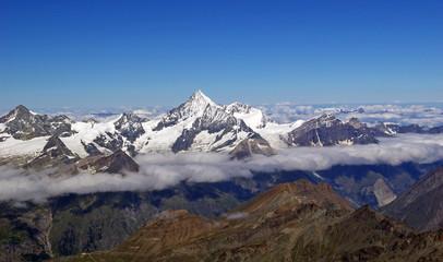 Über den Wolken vom Wallis
