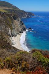 California coast; south of Bixby Bridge; Central California