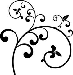 vecteur série - branche décoration vectoriel