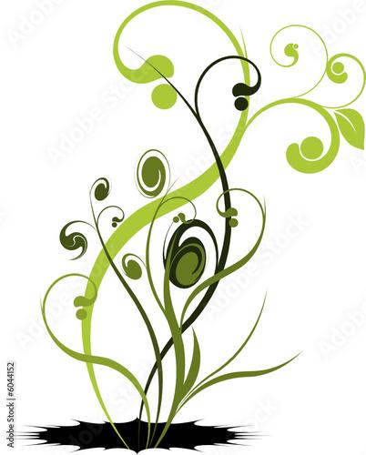 Vecteur s rie trange plante vectorielle fichier for Plante 21 en ligne