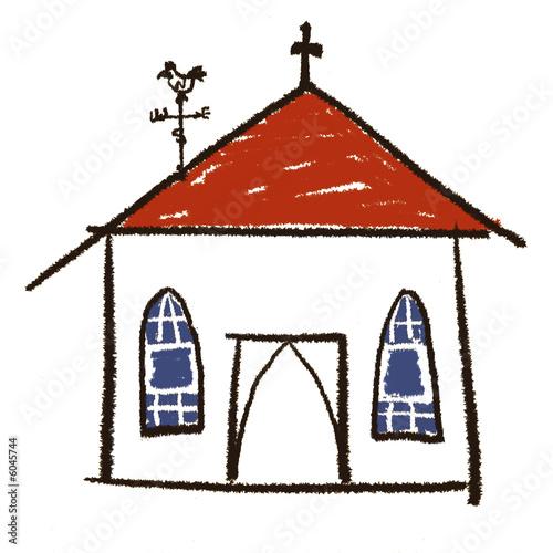 Dessin glise photo libre de droits sur la banque d - Eglise dessin ...