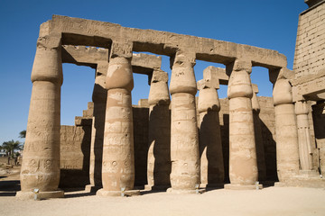 A photo of Karnak temple in Luxor, Egypt
