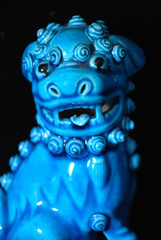 Blue Fu Dog