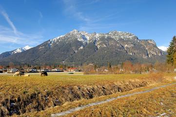 Wall Mural - Der Kramer bei Garmisch-Partenkirchen