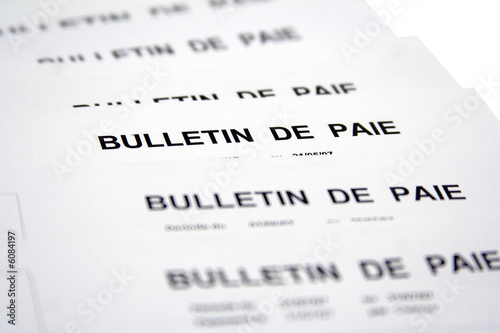 r mun ration salaire et bulletin de paie photo libre de droits sur la banque d 39 images fotolia. Black Bedroom Furniture Sets. Home Design Ideas