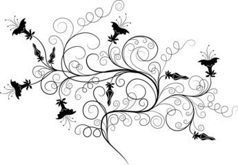 Decorative element for design, vector illustration