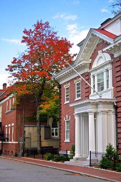 Harvard Square, Cambridge..