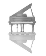 silbernes klavier