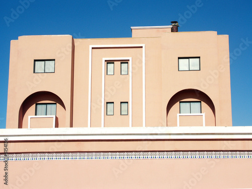 maison moderne au Maroc\