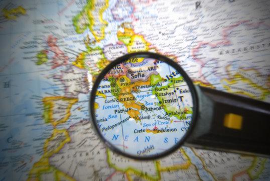 zoom in Greece