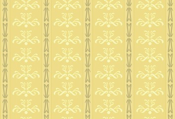 An illustration of an old vintage wallpaper