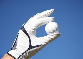 Foto op Plexiglas Golf Golfball, Golf