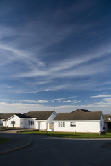 Residences in Llandudno. Wales
