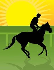 Jockey Morning Ride