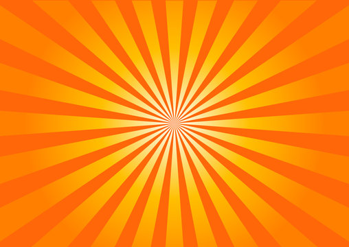 raggi arancioni