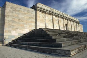 Porte principale du Zeppelin Tribune d'Hitler, Nuremberg
