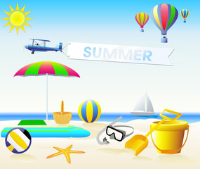 ECTOR SUMMER Design elements