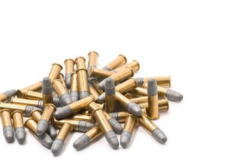 Pile of cartridges