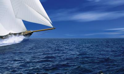 Spoed Foto op Canvas Zeilen Segelschiff 1