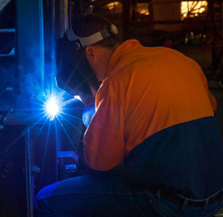 Welding in mining and construction industry