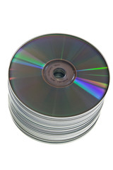 spindle of cd-roms