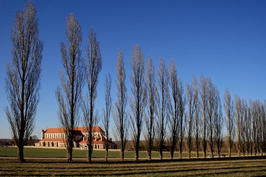 Abbaye de Pontigny dans son environnement