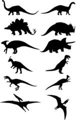 dinosaur silhouette vector file