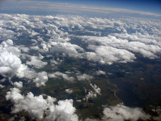 the earth top  air view photo