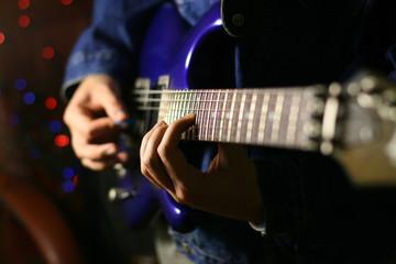 solo guitarist