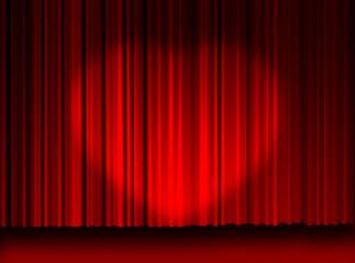 Movie curtains love light... My heart.