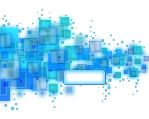 blaue vierecke