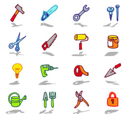 color icons - tools