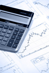 Calculator and finance charts